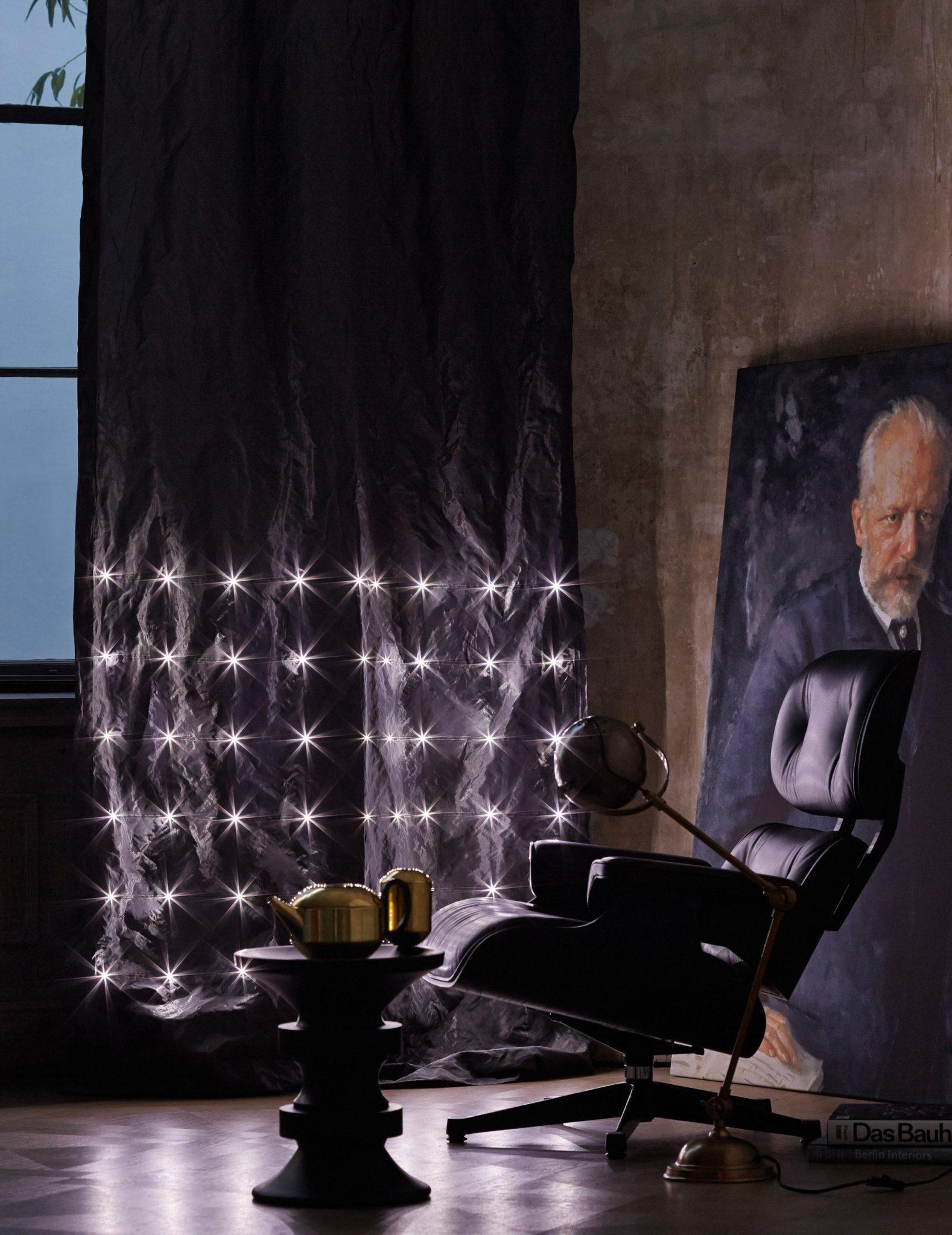 """Ткани со световыми диодами """"Elumino"""""""