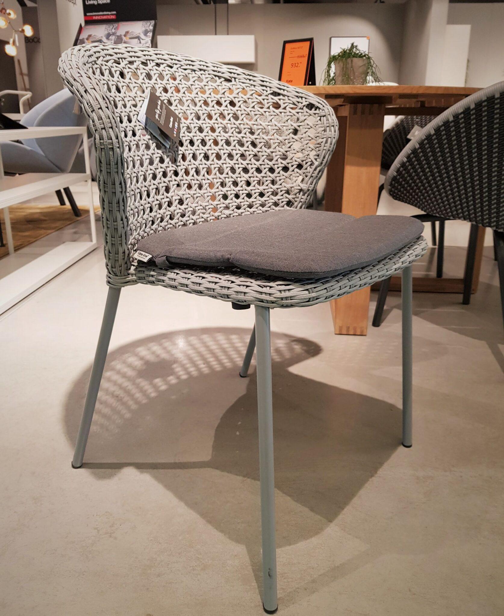 terases krēsls LEAN ar spilvenu