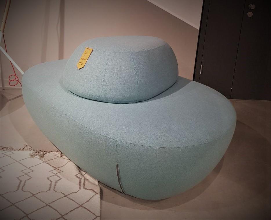 Dīvāns-pufs SISTERS large/w