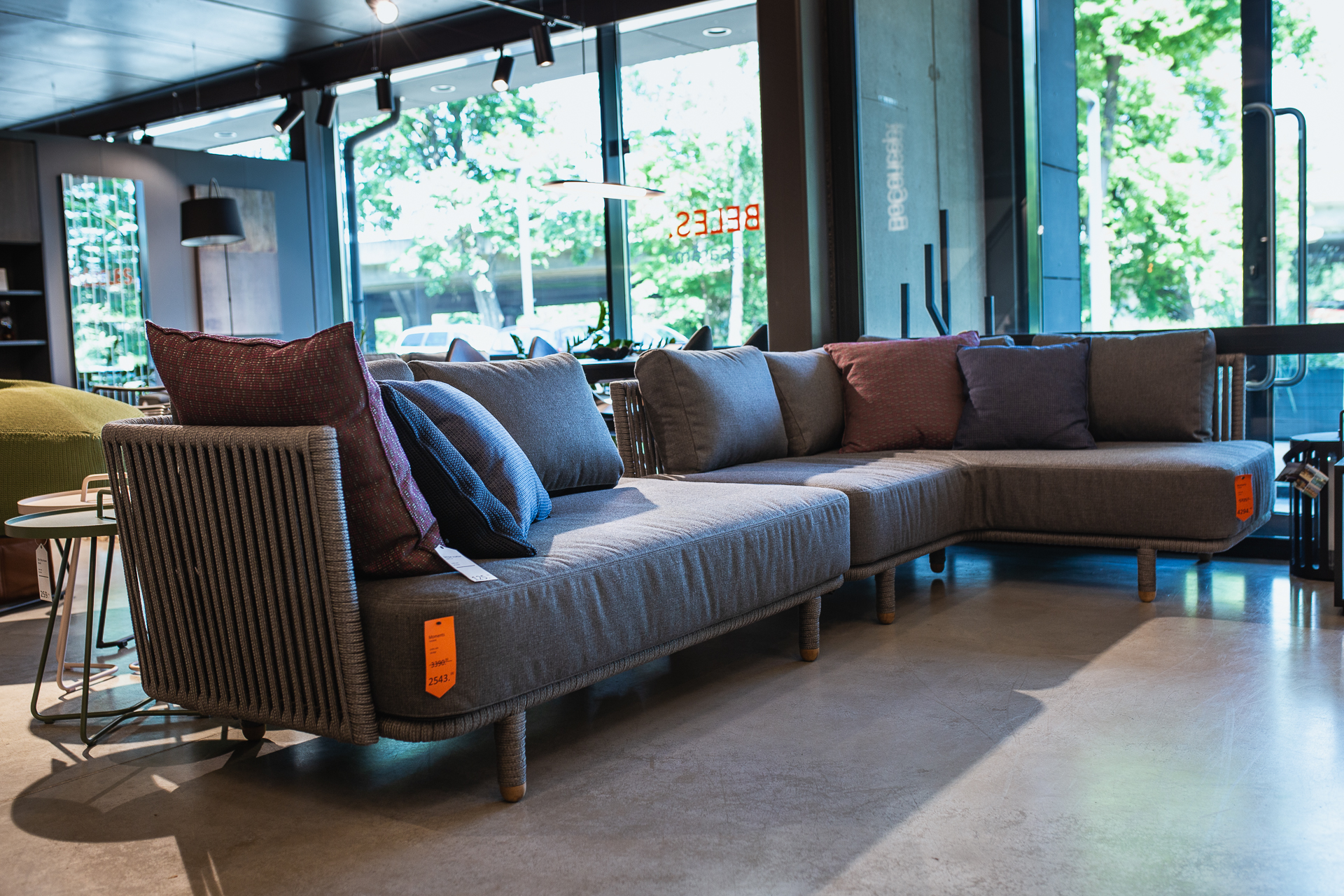 terases dīvāns MOMENTS