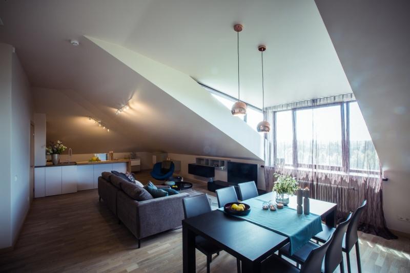 Мансардная квартира в Риге