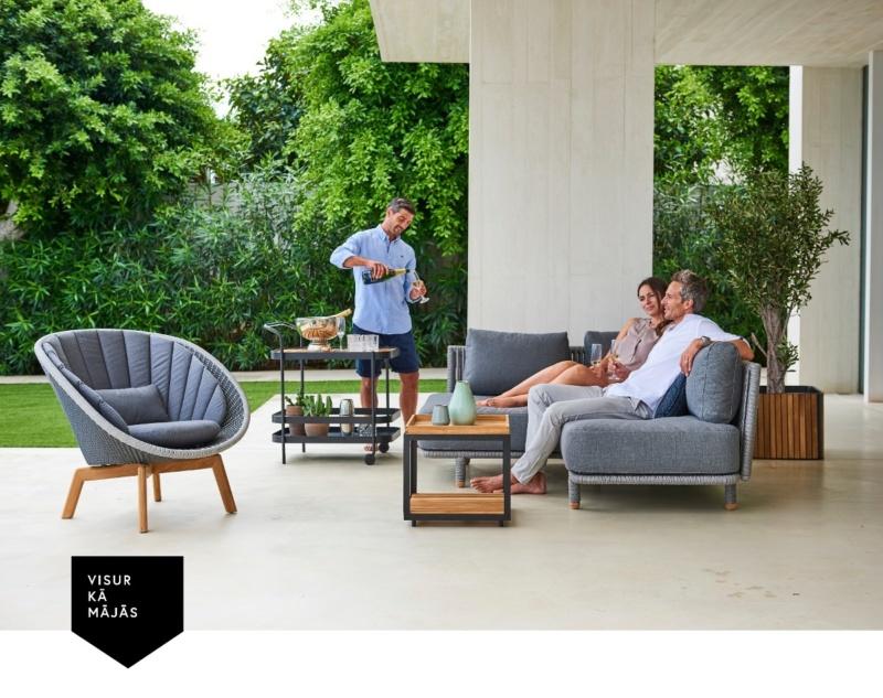 Готовь сани летом, а мебель для террасы приобретай весной!