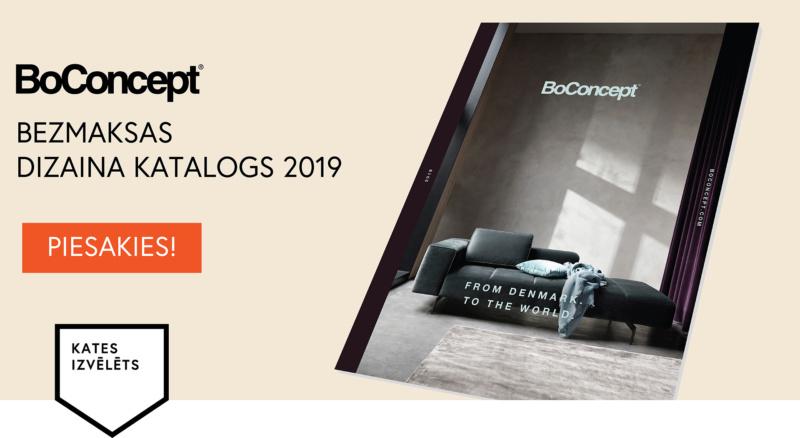 No Dānijas – pasaulei. Piesakies BoConcept katalogam 2019!