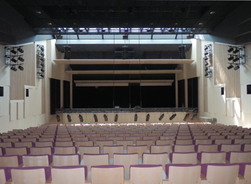 Latvijas Nacionālā bibliotēka – akustiskās sistēmas Ziedoņa zālei