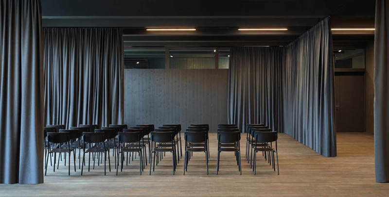 The role of acoustic fabrics and solutions in public spaces