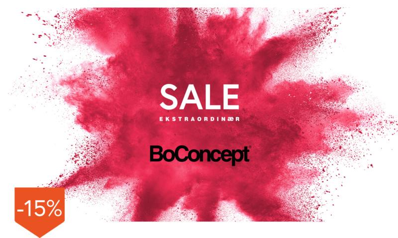 BoConcept furniture 15% off